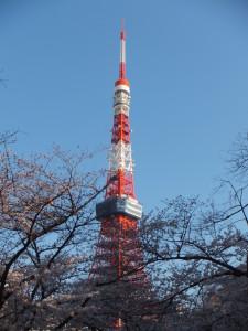 2019.4-東京タワー下