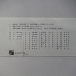 紙クズの商品券2