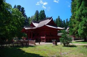 岩木山神社遊歩道2018-4