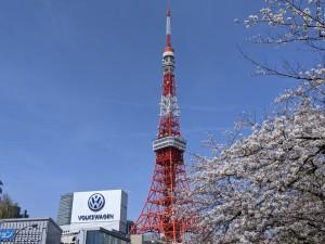 東京タワー2021春